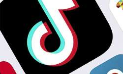 This Feb. 25, 2020, file photo, shows the icon for TikTok in New York. Amazon has told employees to