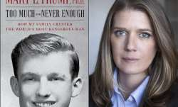 "This combination photo shows the cover art for ""Too Much and Never Enough: How My Family Created the"