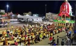 Jagannath Yatra 2020: Holy Trinity adorned with gold ornaments during Suna Besha ceremony