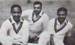 sir everton weekes, sir clyde walcott, sir frank worrell, west indies cricket, three ws