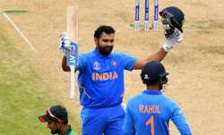 On this day: Rohit Sharma broke Sourav Ganguly's record of most centuries in a World Cup for India