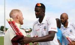 Jason Holder and Ben Stokes