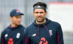England pacer James Anderson