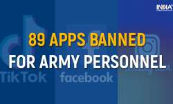 full list of banned apps, apps banned for indian army, 89 apps banned by indian army, Facebook, Ins