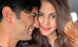Sushant Singh Rajput and Rhea Chakraborty unseen photo