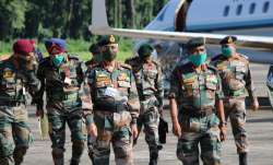 Chief of Army Staff visits Tezpur-based 4 Corps, reviews military preparedness along LAC