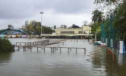 Mumbai: Islam Gym Ground is submerged due to heavy