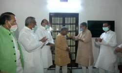 Rajya Sabha Deputy Chairman Harivansh breaks his fast