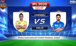 Chennai Super Kings vs Delhi Capitals: Watch CSK vs DC IPL 2020 Stream Live match