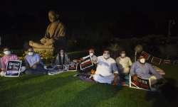 Rajya Sabha protest