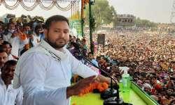 RJD leader Tejashwi Yadav sayd BJPdoesn't have a face in
