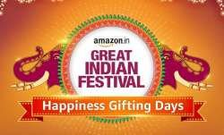 amazon india, amazon sale, amazon india gifting happiness days sale, smartphones, audio, laptops, sm