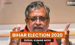 Sushil kumar modi bihar election 2020, sushil kumar modi, sushil kumar modi latest news, sushil modi