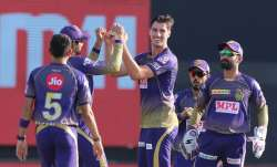 Live Score Kolkata Knight Riders vs Delhi Capitals IPL 2020: Rahane departs for golden duck in 195 c