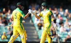 Steve Smith and Aaron Finch
