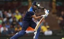Kohli during second ODI against Australia