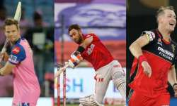 Steve Smith, Glenn Maxwell, Chris Morris
