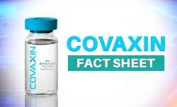 covaxin fact sheet