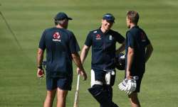 Eoin Morgan Joe Root Chris Silverwood