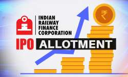 irfc ipo allotment, irfc share listing