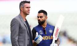 Virat Kohli and Kevin Pietersen