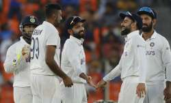 India crushed England by 10 wickets inside two days in
