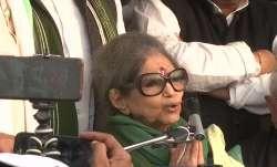 Farmers protest, Ghazipur, farm laws, Mahatma Gandhi granddaughter