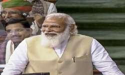 PM Modi, Narendra Modi, Lok Sabha, Budget Session, Parliament