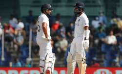 Cheteshwar Pujara and Rohit Sharma