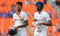 Washington Sundar and Axar Patel