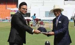 BCCI secretary Jay Shah and Sunil Gavaskar