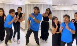 Johny Lever dancing with kids Jaime Jesse