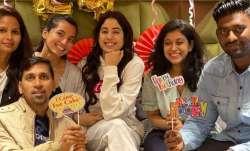 Janhvi Kapoor celebrates birthday on Good Luck Jerry sets