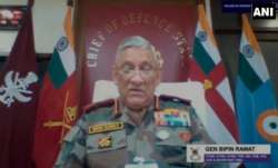 Indian military must be prepared for threats from China, Pakistan: CDS Bipin Rawat