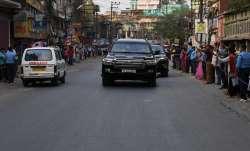 pm modi news, pm modi bengal news,pm modi's convoy ambulance, pm modi bengal rally