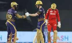 Eoin Morgan and Dinesh Karthik, IPL 2021, IPL 2021 PBKS vs KKR