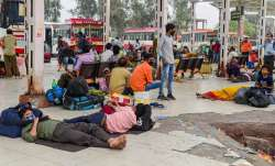 migrants exodus, delhi lockdown