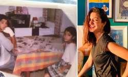 Anushka Sharma shares childhood pic with brother Karnesh; he wonders, 'Why were we reading news?'