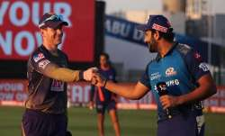 Eoin Morgan and Rohit Sharma