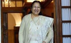 Sumitra Mahajan death news
