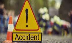 Five killed, road accident, death in road accident, motorcycle, collision, car, Punjab,Hoshiarpur