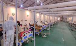 Covid-19 patients undergo treatment at DRDOs Sardar