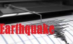The quake occurred at 1:33 pm., with the epicentre at 141