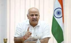 Delhi Deputy CM and AAP leader Manish Sisodia.