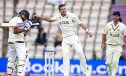 WTC Final | India gain 32-run lead; lose Rohit Sharma, Shubman Gill on Day 5