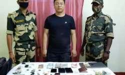 chinese national arrested, BSF, Border Security Force, Malda, India-Bangladesh border, SIM card smug