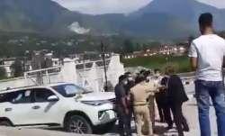 Kullu SP Gaurav Singh was seen slapping Additional SP