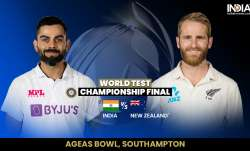 Live Cricket Score, India vs New Zealand WTC Final, Day 3: Follow Live Updates and commentary of Day