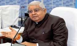 West Bengal Governor Jagdeep Dhankhar