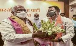Jitin Prasada, Yogi Adityanath, BJP, Congress, Jitin Prasada meets Yogi Adityanath, BJP Party, Luckn